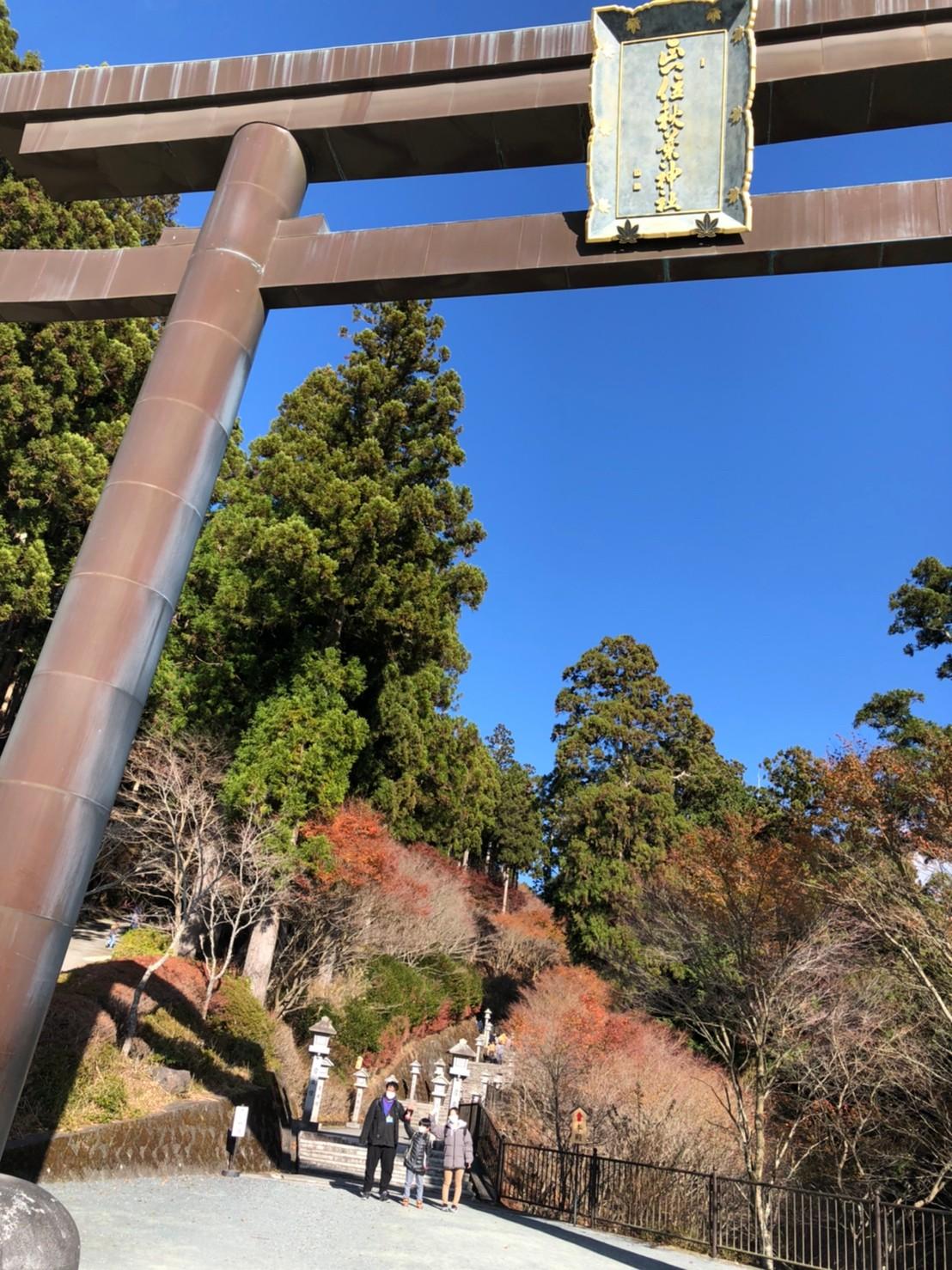 秋のピクニック🍁~秋葉神社~